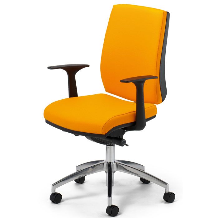 Ergonomic Operator Chair With Syncro Mechanism